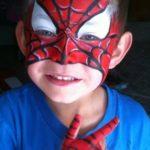 Spider-Man Face Paint